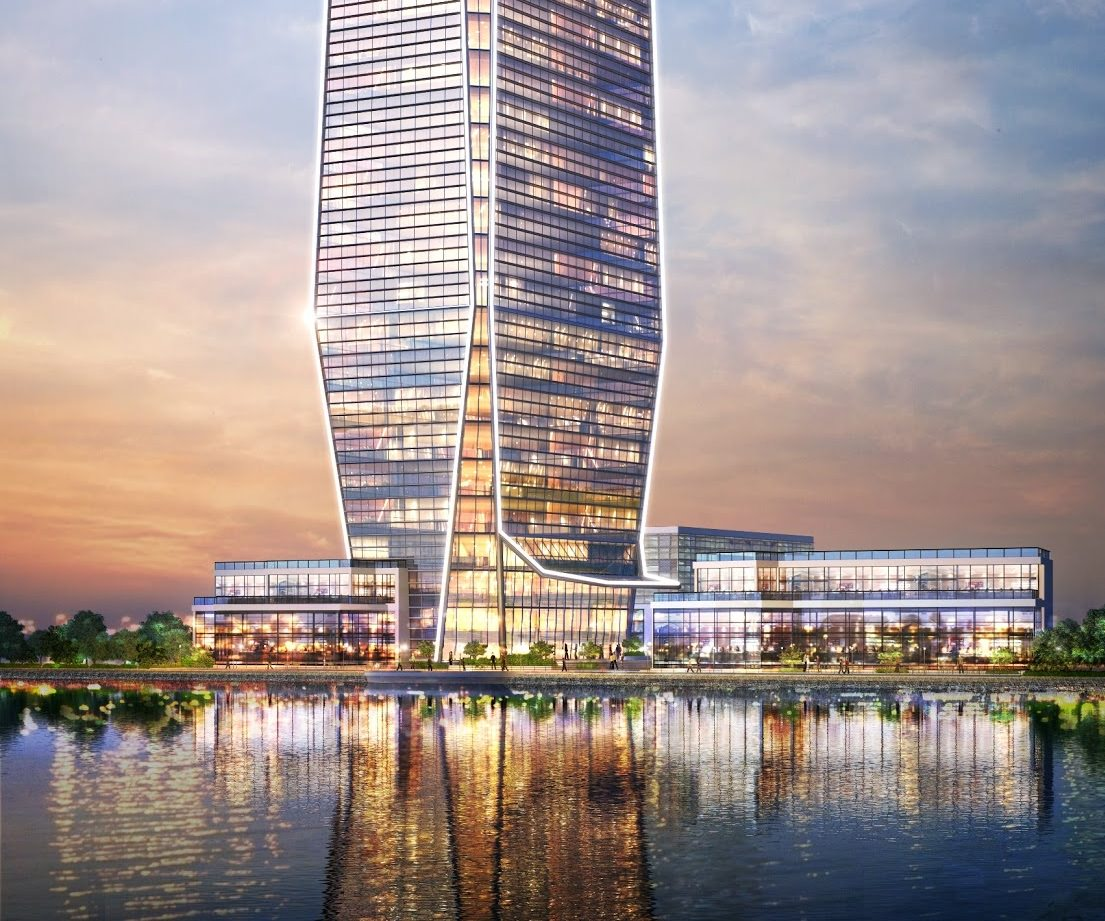 Future Generation Tower built by MSCEB