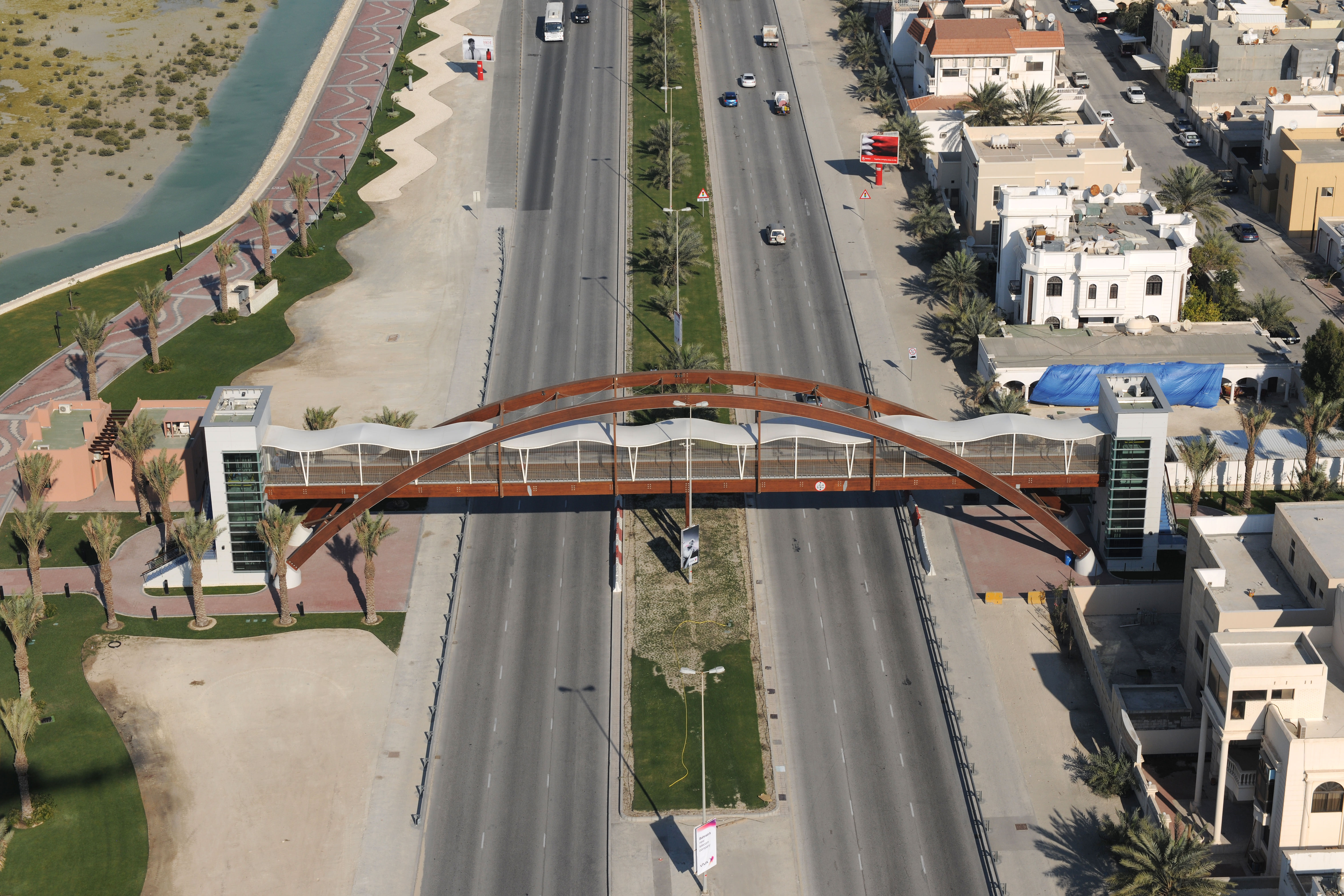 Arad Bay Pedestrian Bridge