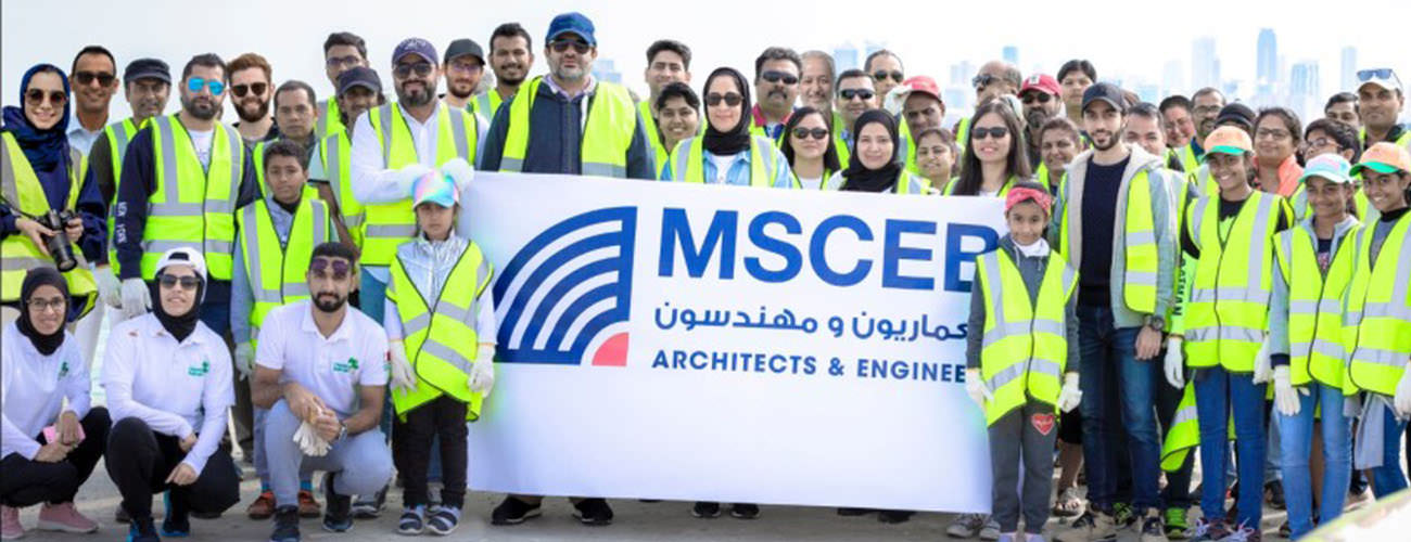 Mohamed Salah El Din Engineering Consulting organizes an event to clean the coast of Norana